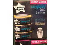 10 sangenic refills