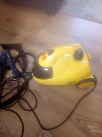 Steam cleaner little yellow model in excellent condition
