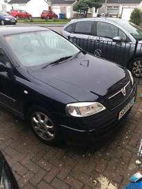 Vauxhall Astra 1.6 petrol 5 door SD04 ZFS