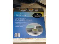 Stoneware party bowls by crofton