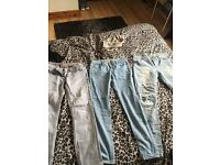 3 pairs including river island
