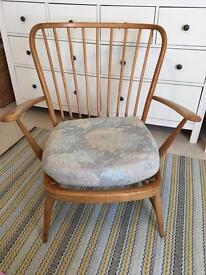 Lovely original Ercol easy chair