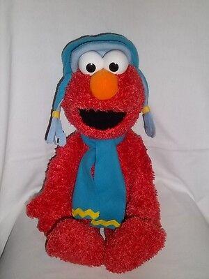 "2006 GUND 22"" Plush Winter ELMO Christmas 46094 Large Sesame Street Stuffed Red"