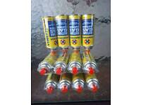 12 butane gas canisters for camping stove