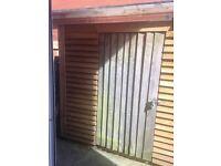 Garden shed built last summer paid £279 make me an offer
