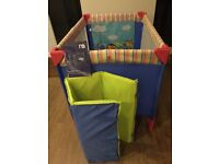 Mothercare travel cot and accessories