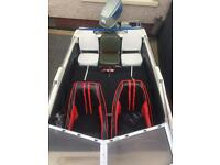 Fletcher arrow sport Suzuki 65hp outboard