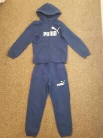 Blue Puma Track suit boys