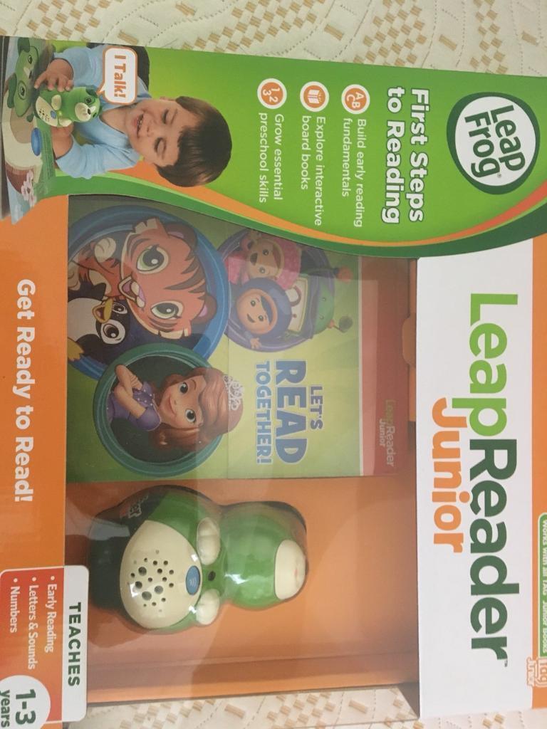 Leap frog reader