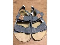 Next size 8 cork-bed sandals