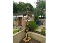 Chainsaw carvings (13ft totem pole)