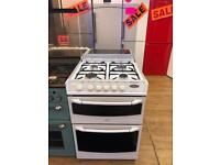 BELLING 60CM DUAL FUEL COOKER WITH LID