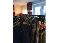 Large assortment of top brand new & as new clothing, shoes and accessories