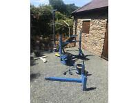 Heavy duty bench press multi gym