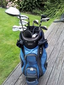 Ladies Taylor Made Burner quality golf clubs. Full set including Odyssey Putter. A1 condition