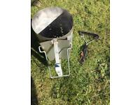 BBQ Weber Chimney Starter and Cleaning Brush (freebies too)