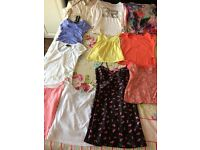 Small bundle of women's clothes. Size 8-10 and small