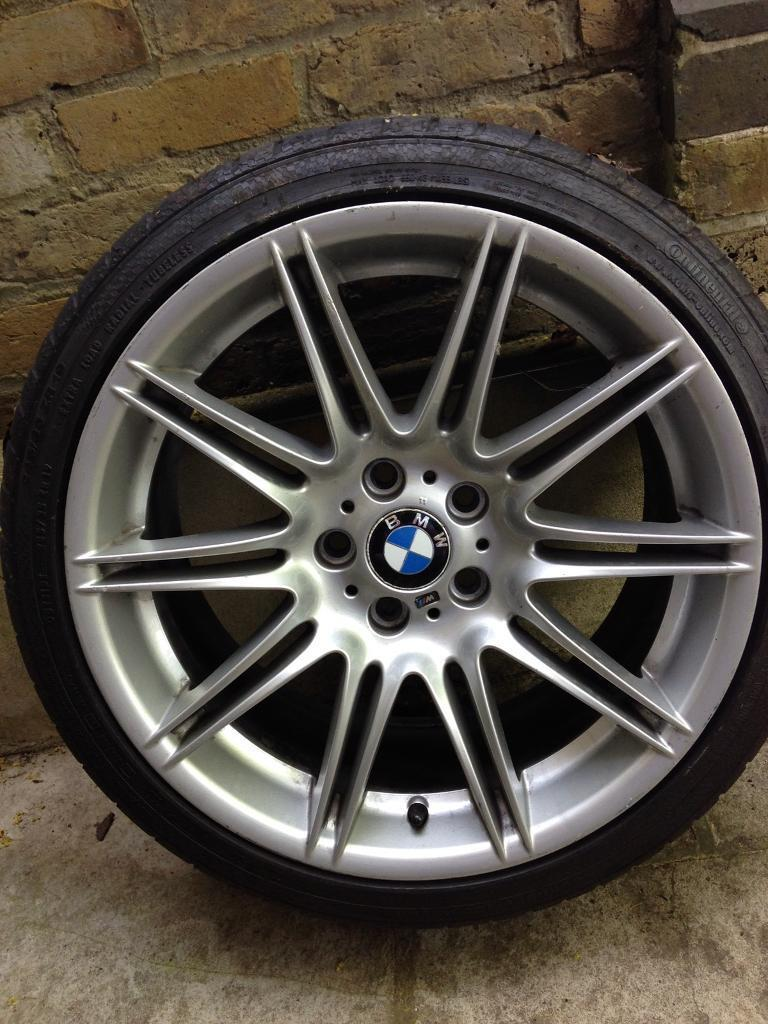 bmw 225m crack repaired alloy wheel rear 19 225 30r19 y. Black Bedroom Furniture Sets. Home Design Ideas