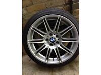 "BMW 225M Crack Repaired Alloy Wheel - Rear 19"" 225/30R19 Y 91"