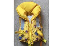 Childs life jacket (10-20kg)