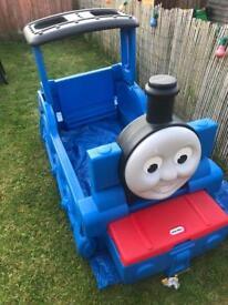 Thomas tank engine bed frame