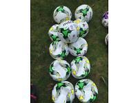 10 X Mitre delta EFL replica match balls size 5