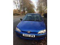 £450 -Peugeot 106 - 12 months MOT - 2002 - low miles