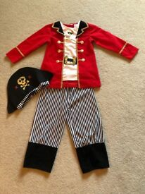 Captain Hook dressing up outfit - world book day