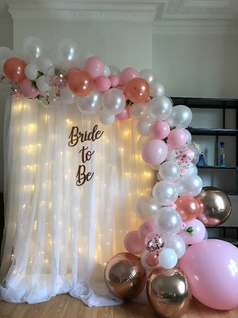 Balloon Arches And Bday Decorations From North London All The Way To