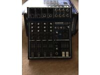 Samson MDR 6 channel mixer (boxed never used)