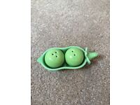 Two Peas in a Pod Salt and Pepper Set