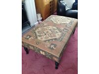 Large Bespoke Footstool/ Coffee Table