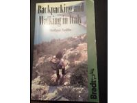 Backpacking and walking in Italy: Long and Short Walks by Stefano Ardito