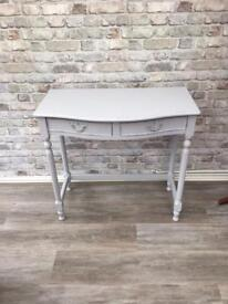 Lovely shabby chic dressing/ console table