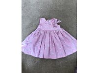 Baby girl 3-6 month Jasper Conran dress