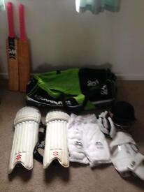 Full mens cricket kit