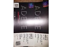 2 x Adele The Finale pitch side tickets