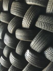 FREE FITTING&BALANCING WITH EVERY TYRE PURCHASED..... Partworn and new from £10