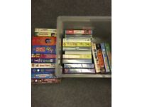 Video tapes assorted - childrens