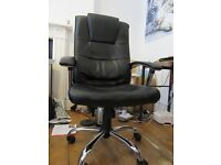Leather Faced Executive Office Chair for Sale