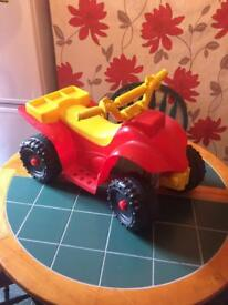Children's battery powered ride-on quad