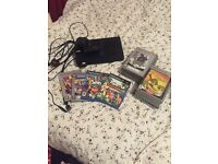 PS2 1 controller, Memory card, 16 games