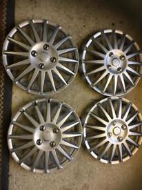 Wheel trims 15 inch universal