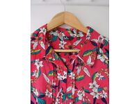 LADIES COTTON PRINT TOP SIZE 20