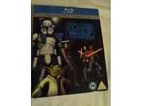 Star Wars Clone Wars Seasons 1-4 [Blu Ray] - £22