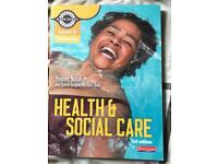 Level 2 health and social care book