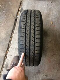 Vw polo 6n2 steel wheels(all with good brand, and good tread)