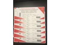 6 x Anthony Joshua vs Joseph Parker tickets 2 still available