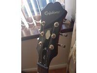 Epiphone dot 335 guitar, mint condition.
