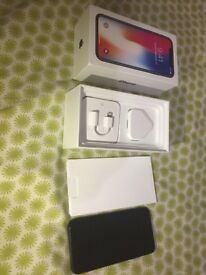 apple iPhone X - 256GB - Brand New -Grey (Unlocked) A1901 open Box Never been used